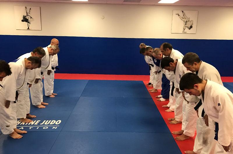 Judo class A. Kolychkine Judo Foundation