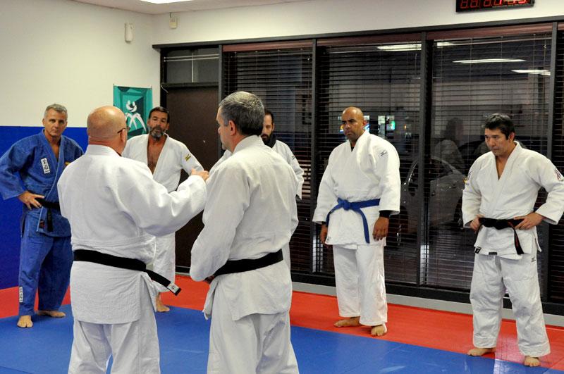 Adults class - A. Kolychkine Judo Foundation
