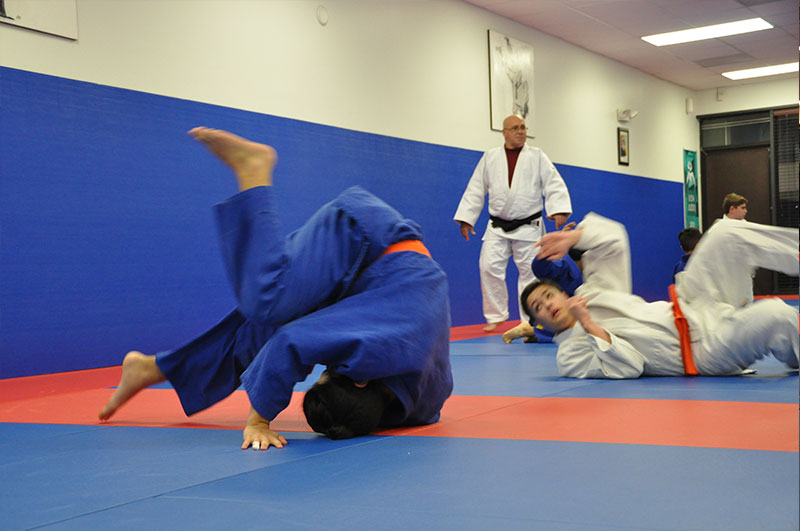 Judo classes for adults and children at A Kolychkine Judo
