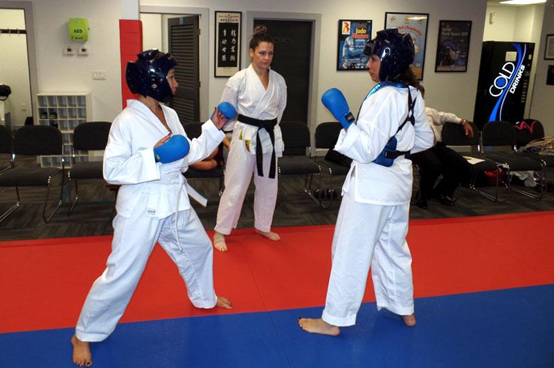 Learning kumite